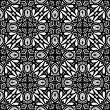Seamless Vintage Lace Pattern (Vector) Royalty Free Stock Image