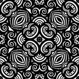 Seamless Vintage Lace Pattern (Vector) Stock Photography