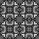 Seamless Vintage Lace Pattern (Vector) Royalty Free Stock Photo