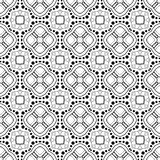 Seamless Vintage Lace Pattern (Vector) Stock Image