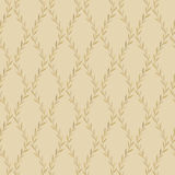 Seamless Vintage Leaves Pattern Royalty Free Stock Photos