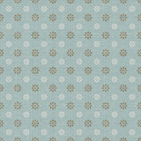 Seamless vintage light cross line flower pattern wallpaper background. Royalty Free Stock Images