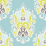 Seamless vintage luxury ornamental vector pattern for fabric Royalty Free Stock Photo