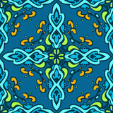 Seamless vintage luxury  pattern for fabric Royalty Free Stock Image