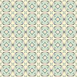 Seamless vintage pastel colored tiles pattern royalty free illustration