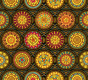 Seamless vintage pattern Royalty Free Stock Photos