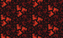 Seamless vintage pattern stock images