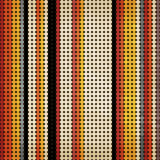 Seamless vintage pattern. Multicolored dot background, Eps 10 Royalty Free Stock Photography