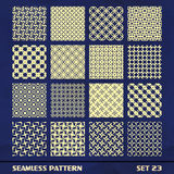 Seamless vintage pattern. Royalty Free Stock Photos