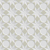 Seamless vintage pattern. Seamless vintage 3D pattern. Modern stylish texture. Repeating geometric shapes. Contemporary graphic design Royalty Free Stock Photo