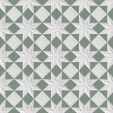 Seamless vintage pattern. Seamless vintage 3D pattern. Modern stylish texture. Repeating geometric shapes. Contemporary graphic design Royalty Free Stock Photos