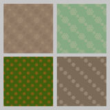 Seamless vintage pattern. Eps 10 Stock Images