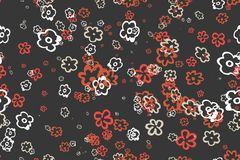Seamless vintage pattern. Eps 10 Royalty Free Stock Photo