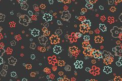 Seamless vintage pattern. Eps 10 Royalty Free Stock Photography
