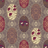 Seamless vintage pattern for fabric patchwork design wallpaper o Stock Photo