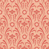 Seamless Vintage Pattern. Seamless floral pattern for design, vector Illustration royalty free illustration