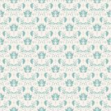 Seamless with vintage pattern Stock Image