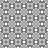Seamless vintage pattern. Geometric abstract seamless pattern. Classic background. Vector illustration. Stock Images