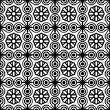 Seamless vintage pattern. Geometric abstract seamless pattern. Classic background. Vector illustration. Stock Image