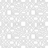 Seamless vintage pattern. Geometric vector textured light gray b Stock Photography