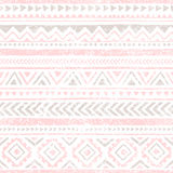 Seamless vintage pattern. Grungy texture. Ethnic and tribal motifs Stock Images