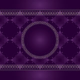 Seamless vintage pattern with lace Royalty Free Stock Images