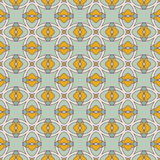 Seamless vintage pattern with ornaments Stock Photo