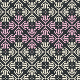 Seamless vintage pattern with ornaments Royalty Free Stock Photography