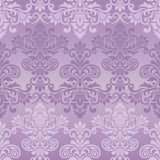 Seamless vintage pattern in purple Stock Photo
