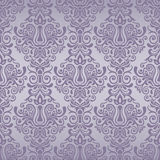 Seamless vintage pattern in purple. Damask seamless pattern for design. Vector Illustration vector illustration
