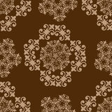 Seamless vintage pattern. Royalty Free Stock Photography