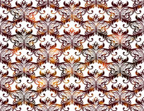 Seamless vintage pattern. Vector illustration, EPS10. Royalty Free Stock Photos