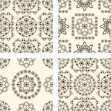 Seamless vintage patterns Royalty Free Stock Image