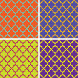 Seamless vintage patterns Stock Images