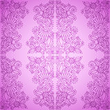 Seamless Vintage Pink Pattern Stock Photography