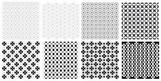 Seamless vintage retro triangle pattern illustration vector Set stock photos