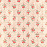 Seamless vintage rose pattern Royalty Free Stock Image