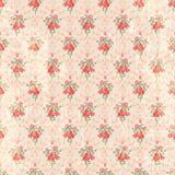 Seamless vintage rose pattern Royalty Free Stock Image