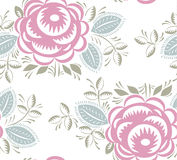 Seamless vintage roses pattern Royalty Free Stock Image