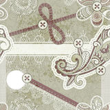 Seamless vintage scrap template Royalty Free Stock Photo