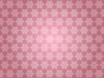 Free Seamless Vintage Snowflakes Pattern In Shining Pink Background Stock Photography - 161867932