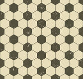 Seamless vintage soccer pattern Royalty Free Stock Image