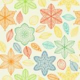 Seamless vintage spring pattern Stock Image