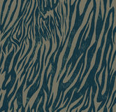 Seamless vintage style pattern with zebra or tiger Royalty Free Stock Photo