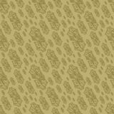 Seamless Vintage Symbol Background. Can be used as textile, fabric or wrapping paper Royalty Free Stock Photo