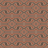 Seamless vintage Toraja color pattern. Ethnic vector textured ba Stock Image