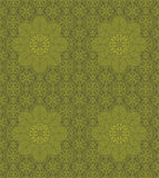 Seamless vintage two-color pattern Stock Photography