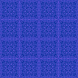 Seamless vintage two-color pattern royalty free illustration
