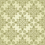 Seamless Vintage Wallpaper Stock Photography