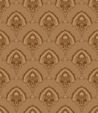 Seamless vintage wallpaper. Seamless  pattern vector illustration element for design(can be repeated and scaled in any size Stock Photo